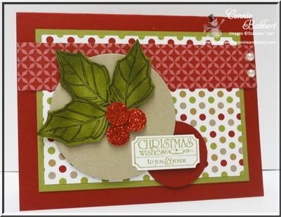 CCMCWINTER13-03 Joyful Christmas Holly