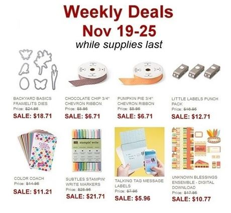 Nov 19 Weekly Deals