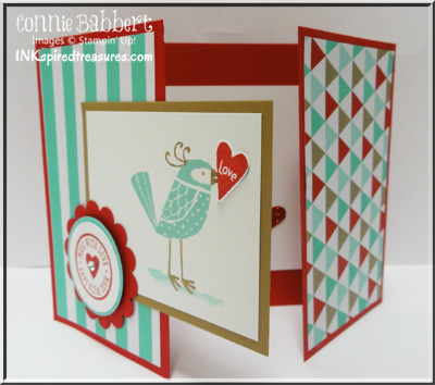 love you much tri fold card inkspired treasures