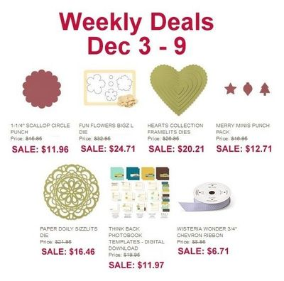 Weekly Deal Dec 3