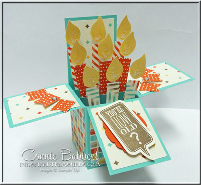 Birthday Candle Box Card