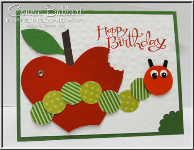 Carter 1st birthday card