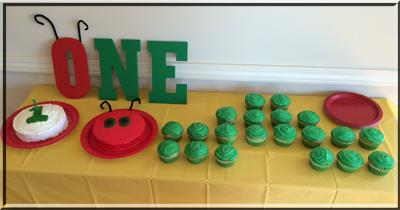 Carter birthday cupcakes small