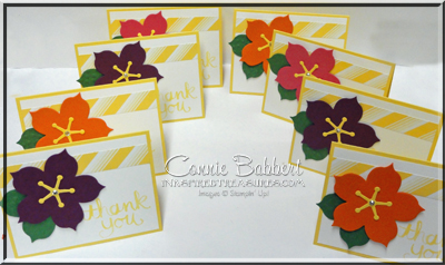 Hibiscus Flower Cards