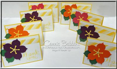 Hibiscus Flower Cards