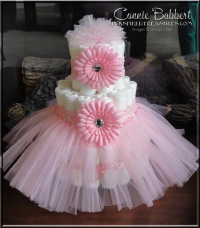 How To Make A Tutu Skirt For Diaper Cake