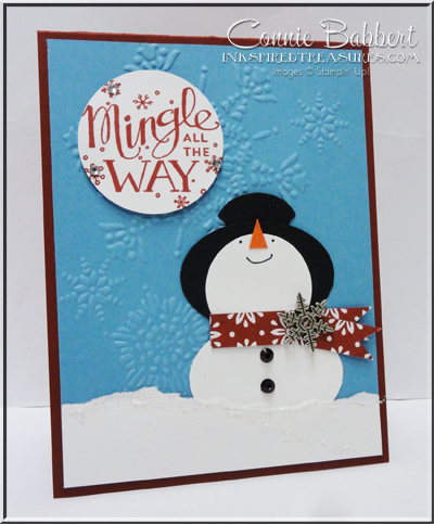 Mingle All the Way Snowman
