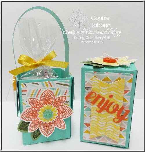 Petal Potpourri Mini Treat Boxes