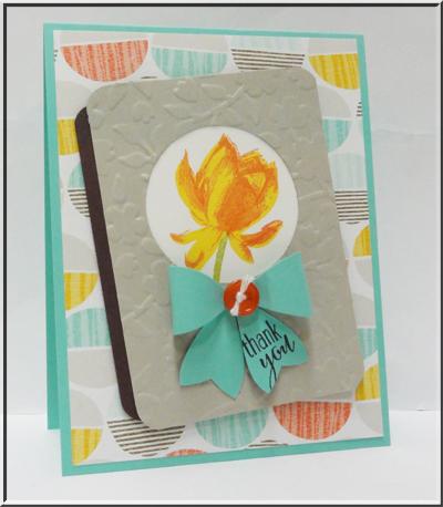 Week 1 Blog Hop:  Lotus Blossom