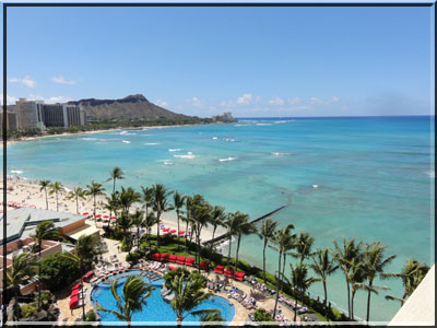 Sheraton Waikiki Room View