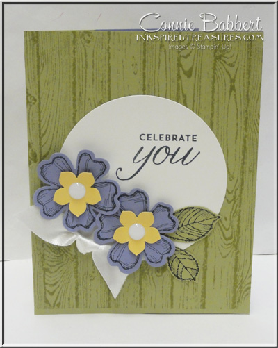 Birthday Blossoms Tunnel Card