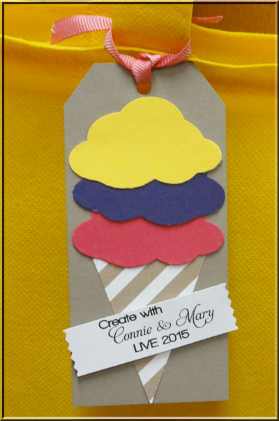 Ice Cream Bag Tags