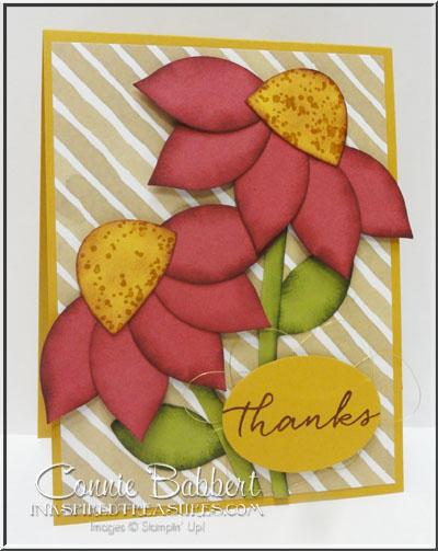 SUOC132 Festive Flower Builder Coneflowers