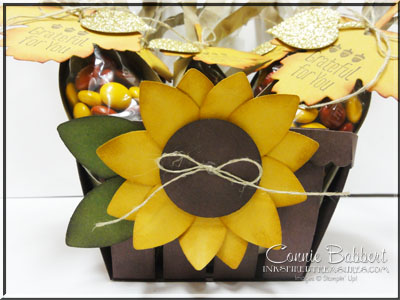 Sept 2015 Sunflower basket