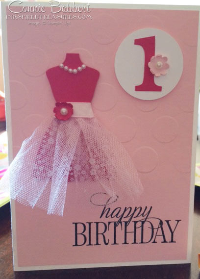 Tutu Dress Birthday Card
