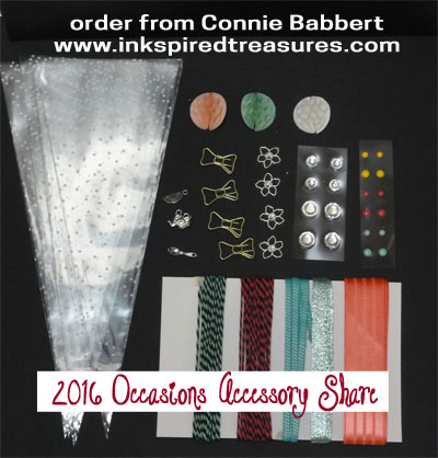 2016 Occasions Accessory share