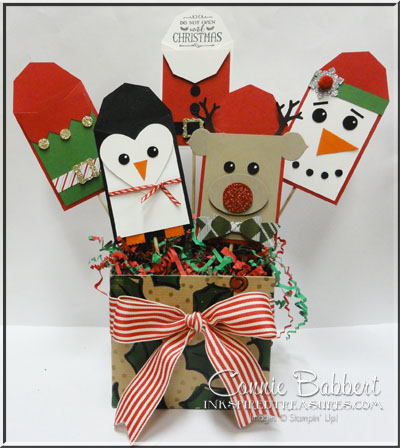 Christmas Gift Card Holder Tree