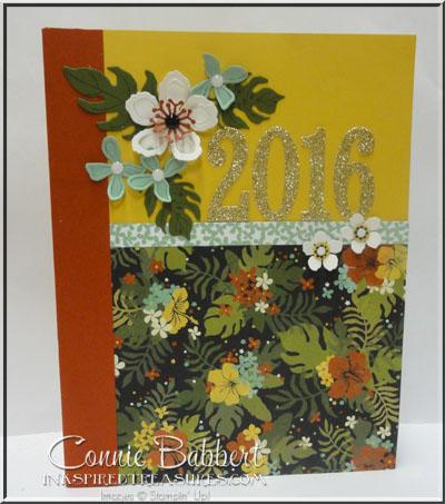 Botanical Blooms Calendar