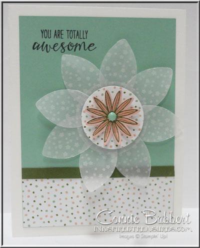 Grateful Bunch Vellum Flower