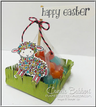March 2016 Easter Lamb Pyramid Box