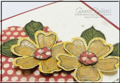 CCMC403 Birthday Blossoms closeup