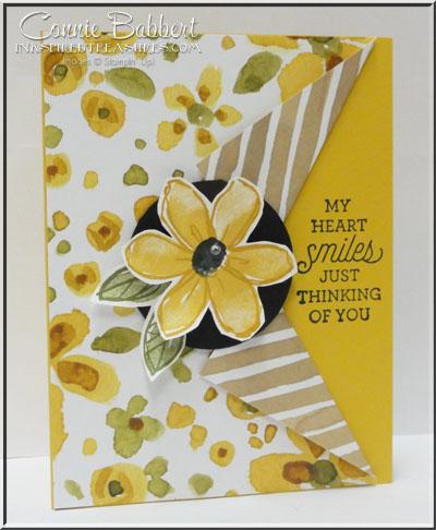 Garden in Bloom Collar Fold Card