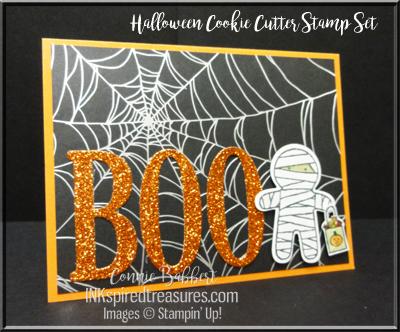 August 2016 Halloween Cookie Cutter Card