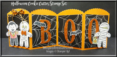 August 2016 Halloween Cookie Cutter Table Decoration