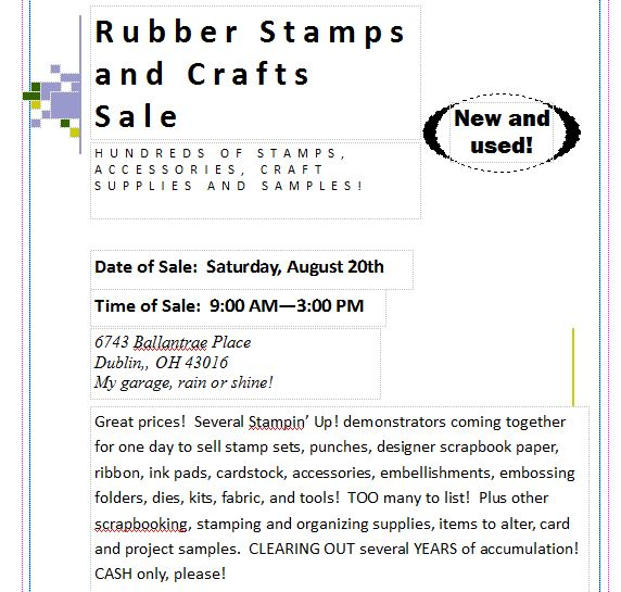 Crafters sale