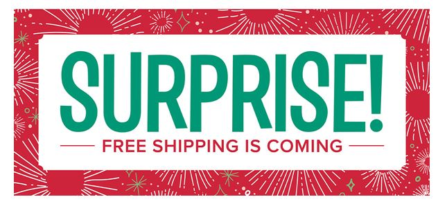 FREE SHIPPING AGAIN!