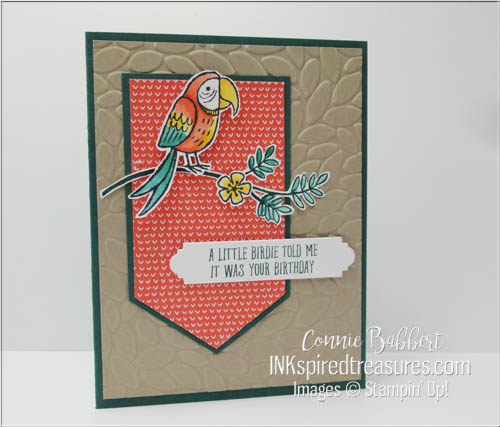 Stampin Up Bird Banter