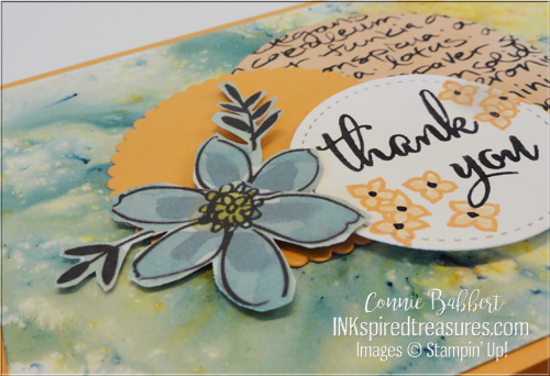 Stampin' Up! Love What You Do closeup