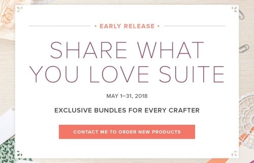 Share What You Love NOW AVAILALBE!