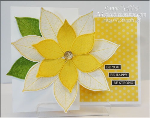 Stampin' Up! Rooted in Nature leaf flower