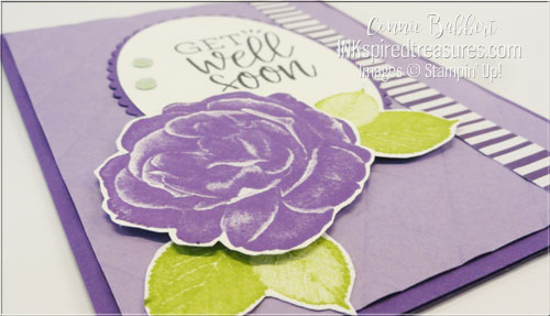 Stampin' Up! Healing Hugs closeup