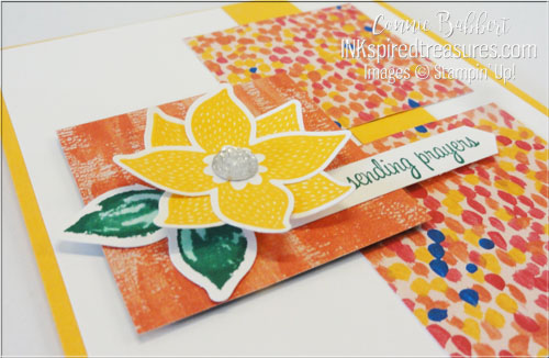 Stampin Up Pop of Petals closeup