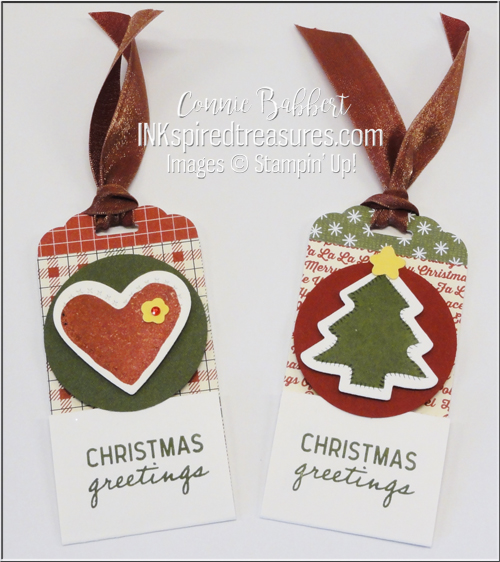 Saturday Blog Hop - Christmas Tags - Inkspired Treasures