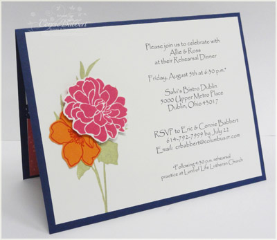 Inkspired Treasures » Blog Archive » Wedding Rehearsal Invitation