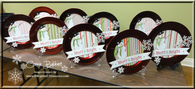 snowman charger plates inkspired treasures - Christmas Charger Plates